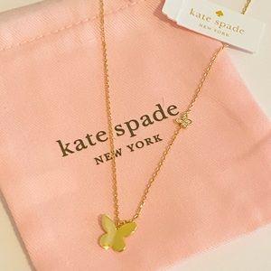 - Kate spade butterfly necklace